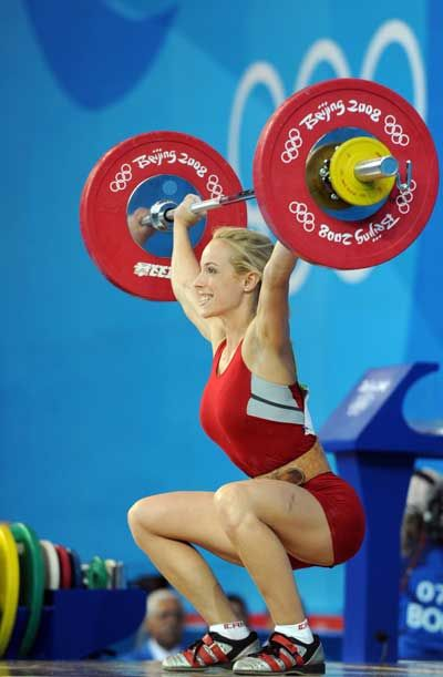 Mary Lou Olympic Lifting